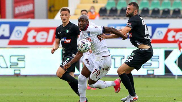 Nwakaeme pozisyonunda penaltı var mı? Trabzonspor, deplasmanda Denizlispor  ile 0-0 berabere kaldı - Habermotto