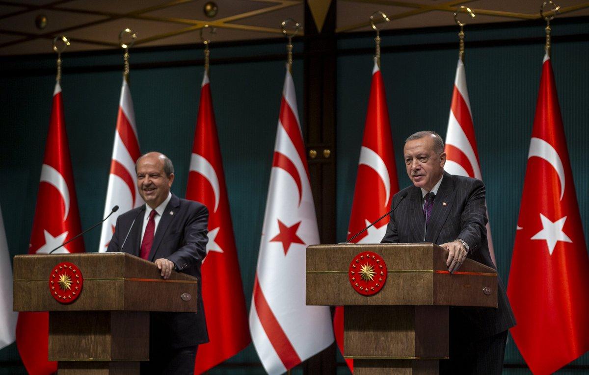 "Cumhurbaşkanı Erdoğan'dan Ersin Tatar'a: ""Kapalı Maraş'ta piknik yapalım  mı?"" - HaberMotto"